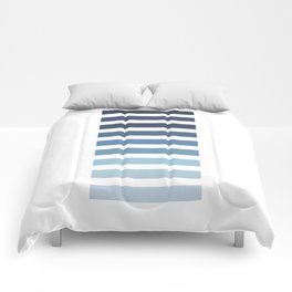 Sky and Water Blue Palette Comforters