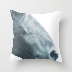Horse head - fine art print n° 2 Throw Pillow