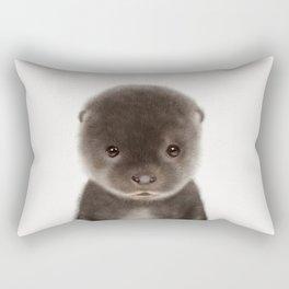 Baby Otter Rectangular Pillow