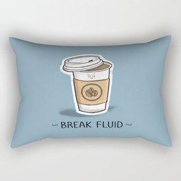 Break Fluid Rectangular Pillow