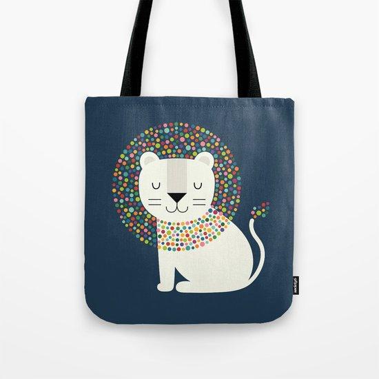 As A Lion Tote Bag