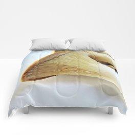 King Mushroom up close Comforters