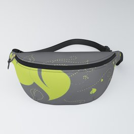 Blowing Leaves in the Dark Fanny Pack