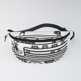 Stupid Cats 1 Fanny Pack