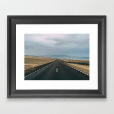 Road to Lima Framed Art Print