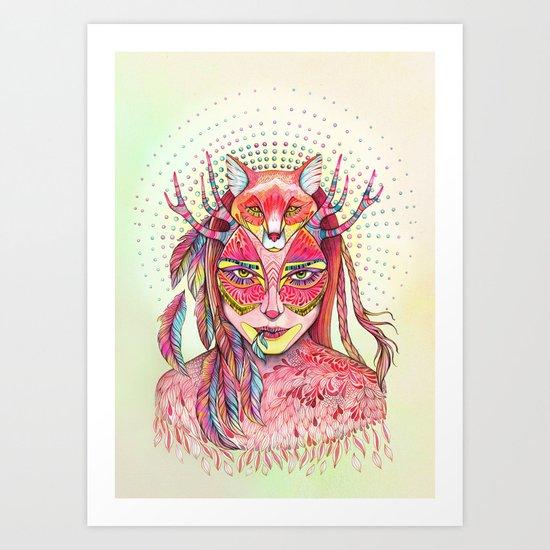 spectrum (alter ego 2.0) Art Print