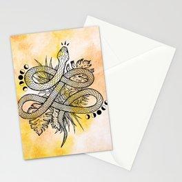 Snake Medicine Stationery Cards
