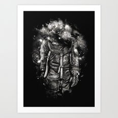 Lost In Cosmic Shades Art Print