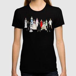 Audrey Hepburn Think Pink Outfits Fashion T-shirt