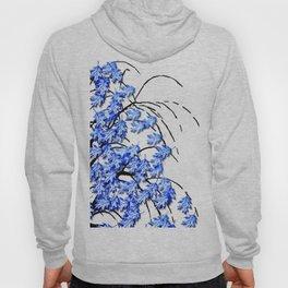 Oak Leaves Blue Hoody