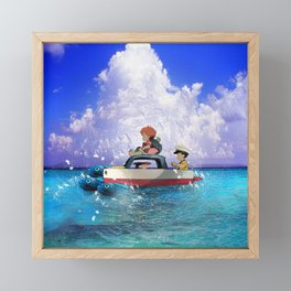 Boat Ride Framed Mini Art Print