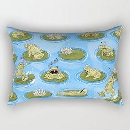 Froggy Fun Rectangular Pillow