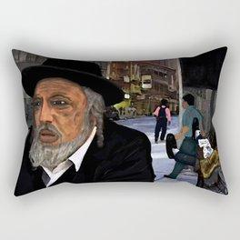 New York Business (Mind Your Own) Rectangular Pillow