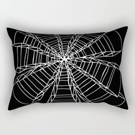 Dimensions Negative Rectangular Pillow