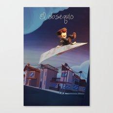 El Obsequio Canvas Print