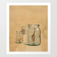 Glass Menagerie Art Print