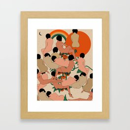 Got Your Back Framed Art Print