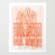 The Spice Art Print