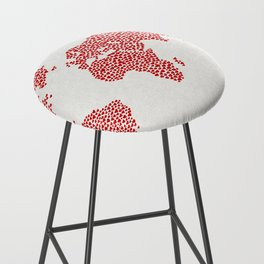 Love, You Are My World Bar Stool