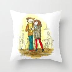Coffee + Love Throw Pillow
