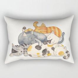 Cat Nap (Siesta Time) Rectangular Pillow