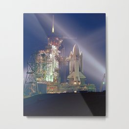 339. First Shuttle Launch Metal Print