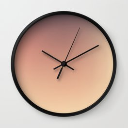 BRUISE / Plain Soft Mood Color Blends / iPhone Case Wall Clock