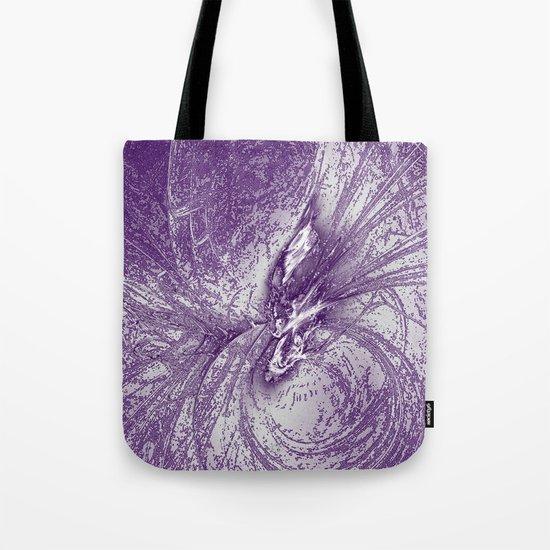 Splatter in Grape Tote Bag