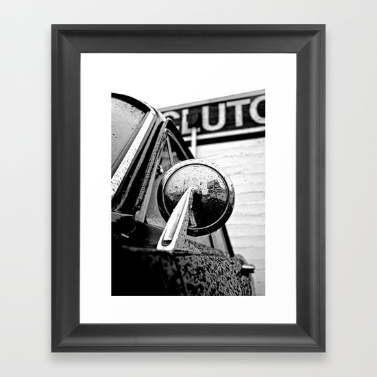 Classic American mirror Framed Art Print