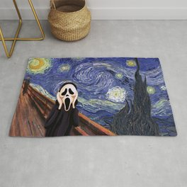 Scream Scary movie Rug