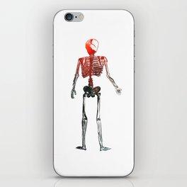 Skeleton in your closet iPhone Skin