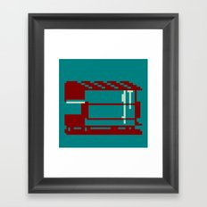 Dumpster Framed Art Print
