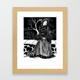"Inktober, Day 28 ""Gift"" #inktober #inktober2018 Framed Art Print"