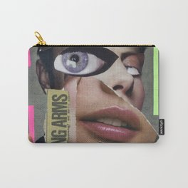 Strong Arms  - Vintage Collage Carry-All Pouch