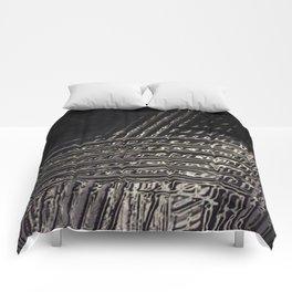 Back to Black Comforters