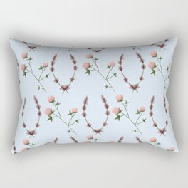 Clover & Lavender Rectangular Pillow