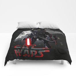 Cat Darth Vader  Comforters