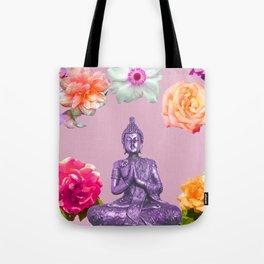 Lavender Buddha Tote Bag