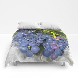 Concord grape Comforters
