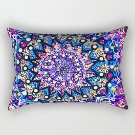 Orb Weaver Mandala Rectangular Pillow
