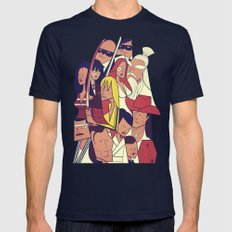 Kill Bill Navy LARGE Mens Fitted Tee