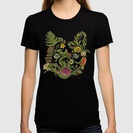 Botanical French Bulldog T-shirt