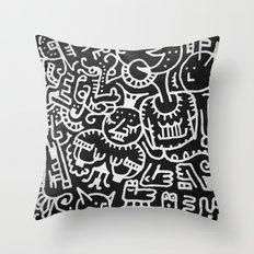 Moonbeasts Throw Pillow