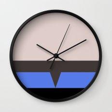 The Doctor - Minimalist Star Trek Voyager VOY - startrek - Trektangle Trektangles - EMH Wall Clock