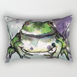 Frog 2 Rectangular Pillow