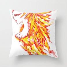 Firebeauty Throw Pillow