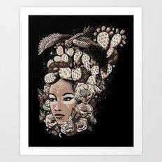 Nopal Art Print