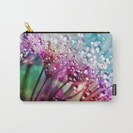 Dewdrops & Rainbows Carry-All Pouch