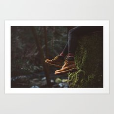 Footwork Art Print