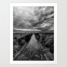 | channel to the gates of heaven | Art Print